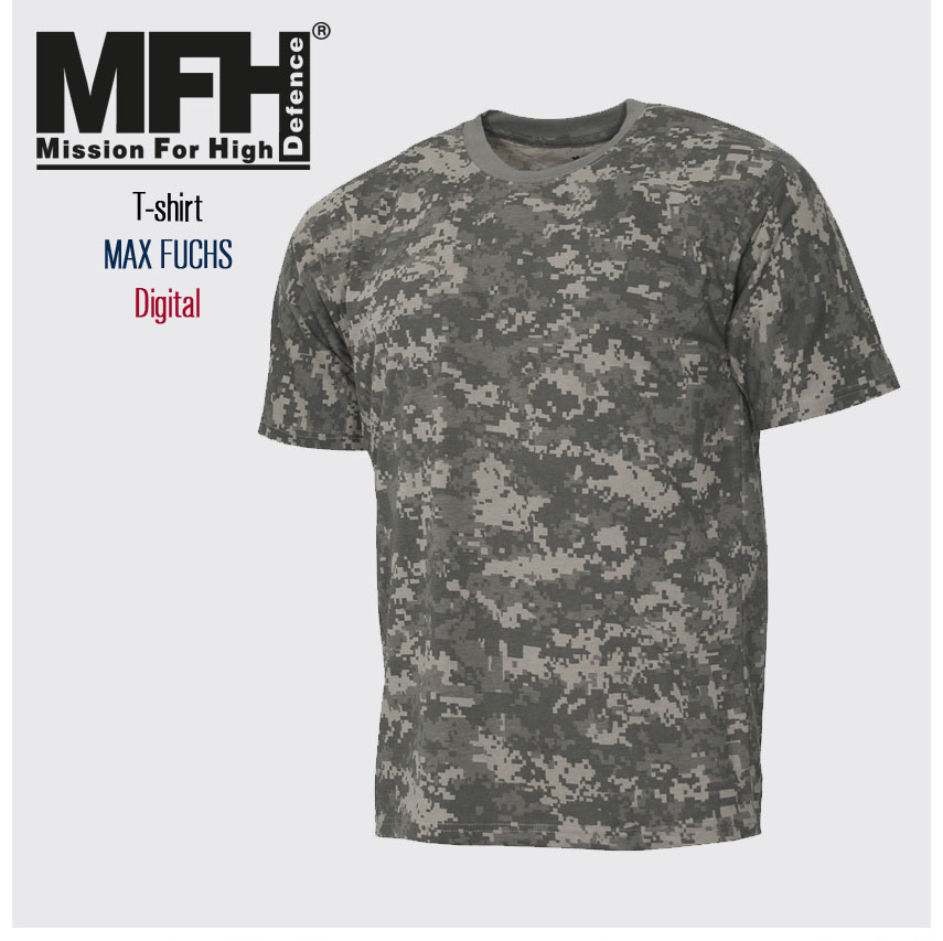 T-Shirt MORO MAX FUCHS w kamuflażu AT-digital Streetstyle
