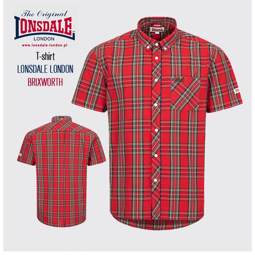 T-shirt LONSDALE LONDON BRADFIELD