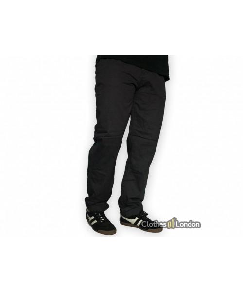 Spodnie męskie Chino Surplus Stalowe