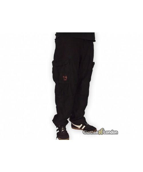 Spodnie bojówki Surplus Airbone Vintage Slimmy Czarne