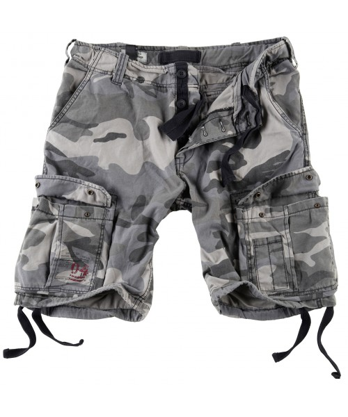 Szorty Airbone Vintage Shorts Surplus Nightcamo