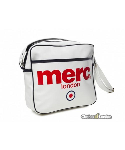 Torba na ramię Merc London Airline Bag Biała
