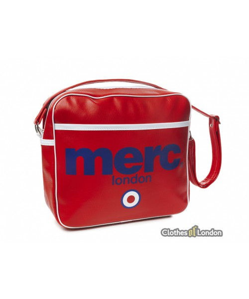 Torba na ramię Merc London Airline Bag Czerwona