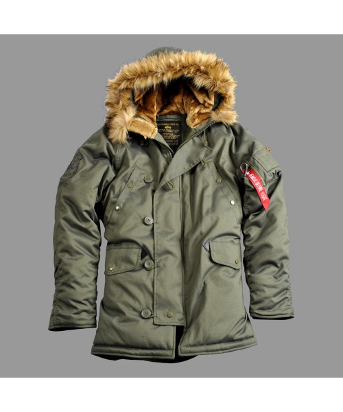 Damska kurtka zimowa Alpha Industries Explorer Wmn Oliwka