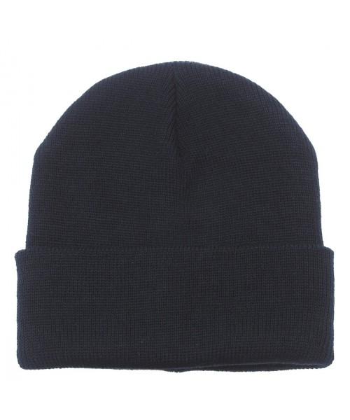 Bawełniana czapka zimowa MAX FUCHS granatowa