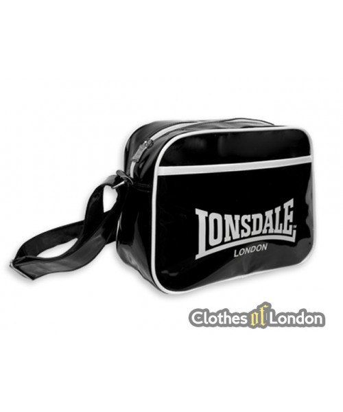 Torba na ramię Lonsdale London Flight Bag Czarno/Biała