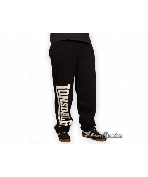 Spodnie Dresowe Lonsdale London Rafty Czarne