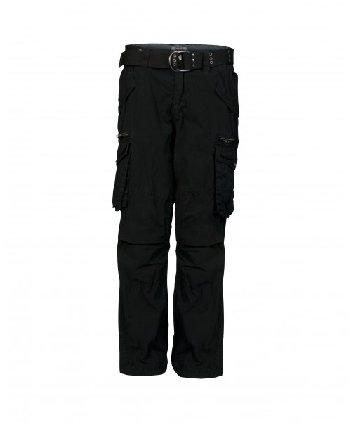 Spodnie bojówki LONSDALE LONDON BASE czarne