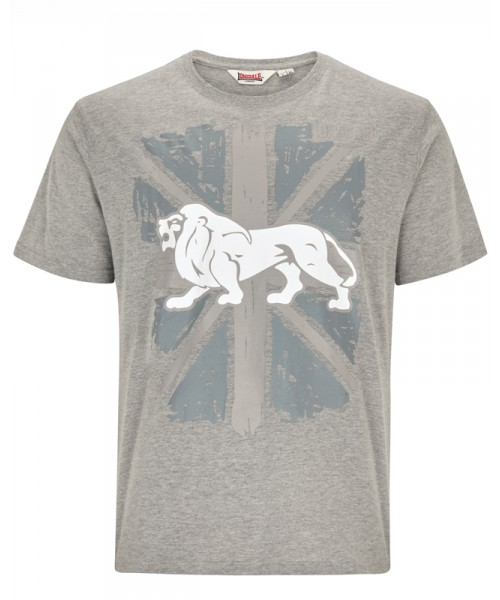T-Shirt LONSDALE LONDON PAISLEY szary