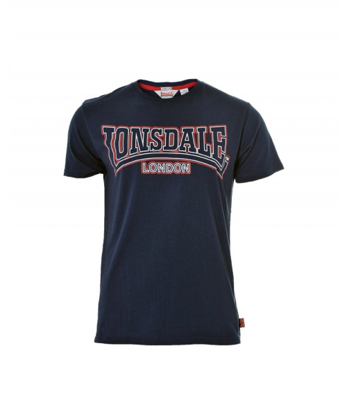 T-Shirt  LONSDALE LONDON ROMSLEY granatowy