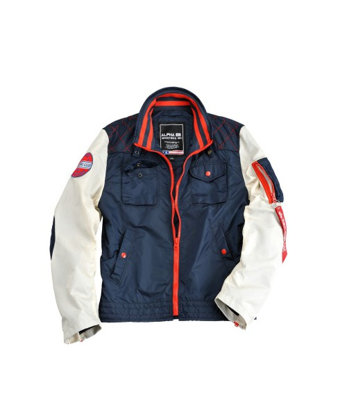 Kurtka Alpha Industriesm MC CLUB JACKET granatowa