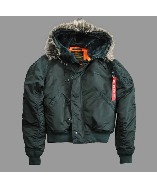 Kurtka ALPHA INDUSTRIES N2-B VF 59 dark petrol