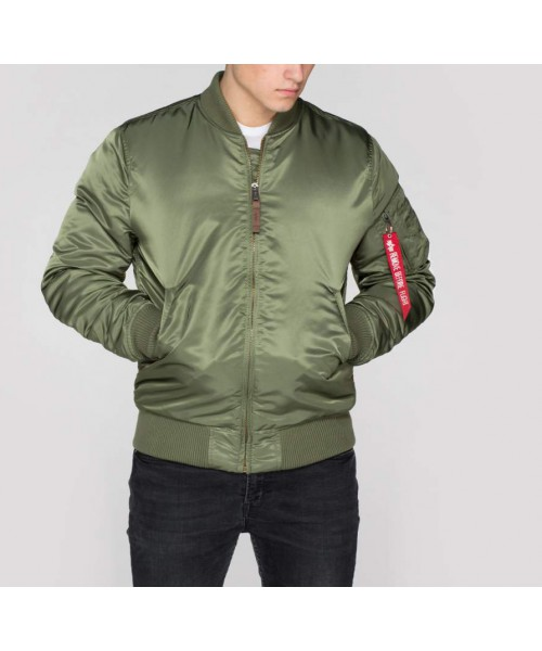 Kurtka ALPHA INDUSTRIES MA-1 VF-59 LONG oliwkowa