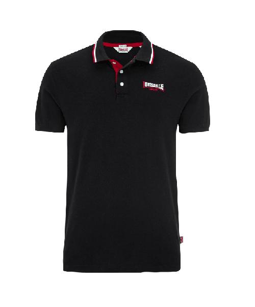Koszulka Polo LONSDALE LONDON  CHIRK czarna