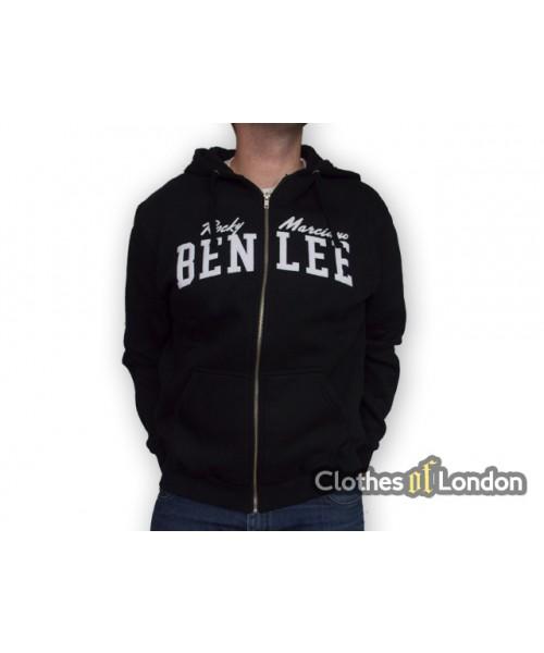 Rozpinana bluza z kapturem Ben Lee Danny Czarna