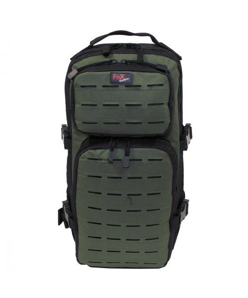 Szturmowy plecak MAX FUCHS ASSAULT TRAVEL czarno oliwkowy