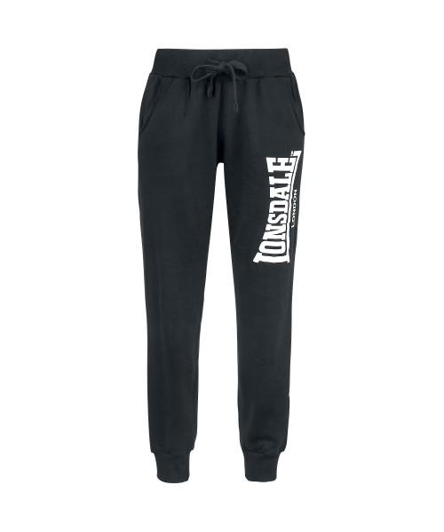 Damskie spodnie dresowe  LONSDALE LONDON THURSO czarne