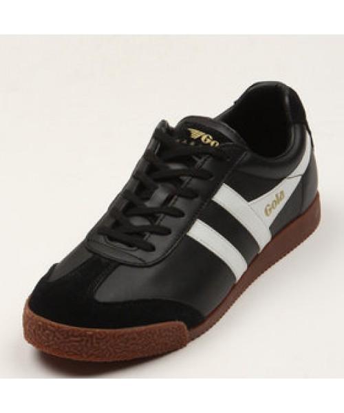 Skórzane buty GOLA HARRIER LEATHER czarno-biało-brązowe