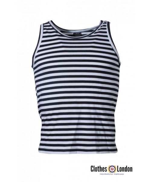 Tank Top koszulka bez rękawów marynarska  w paski SAILOR MAX FUCHS