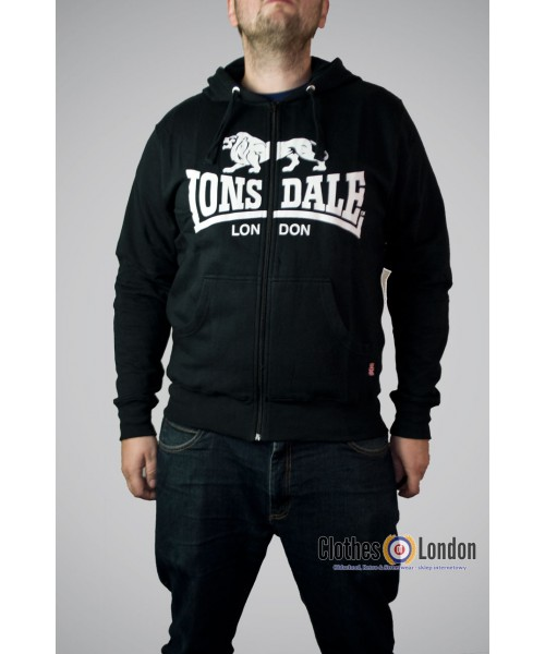 Bluza Lonsdale London Krafty Czarna