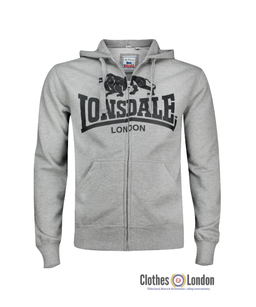 Bluza LONSDALE LONDON KRAFTY szara