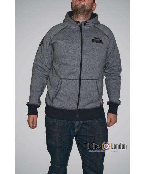 Bluza Lonsdale London Loddon Szara