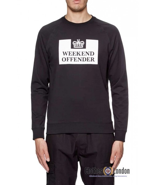 Bluza WEEKEND OFFENDER Penitentiary Czarna