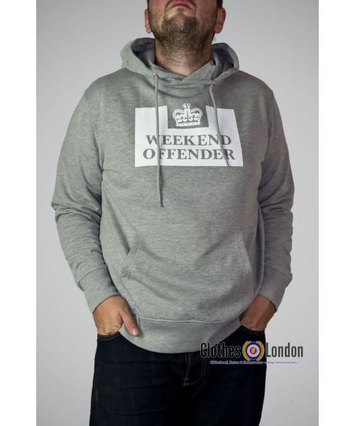 Bluza z kapturem Weekend Offender HM Service Szara