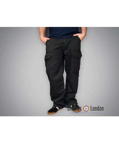 Spodnie bojówki Lonsdale London Oscar Ciemnoszare