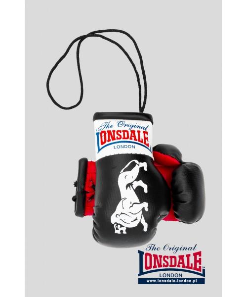 Brelok na lusterko LONSDALE LONDON Mini Gloves Czarny