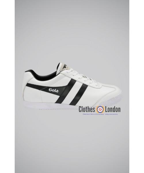 Skórzane buty GOLA HARRIER LEATHER białe