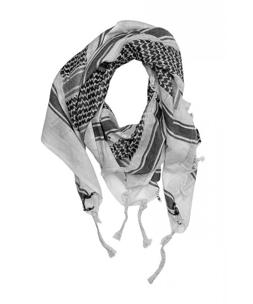 CHUSTA ARAFATKA Mil tec 110 x 110 cm biało – czarna