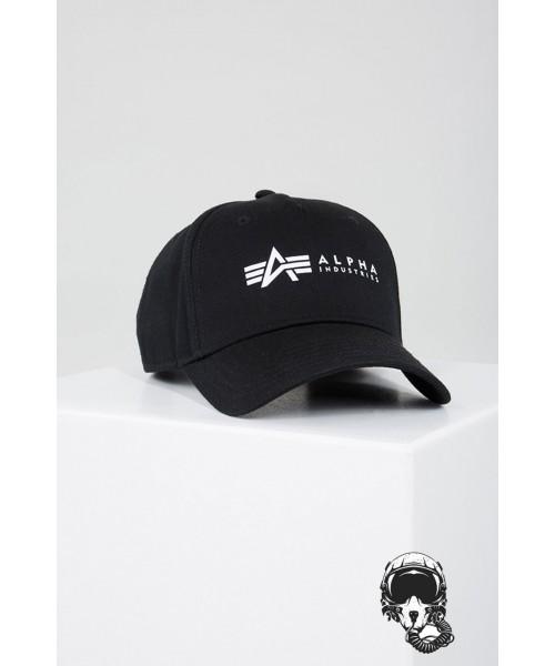 Czapka z daszkiem ALPHA INDUSTRIES CAP czarna