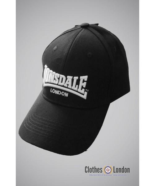 Czapka z daszkiem LONSDALE LONDON WIGSTON czarna