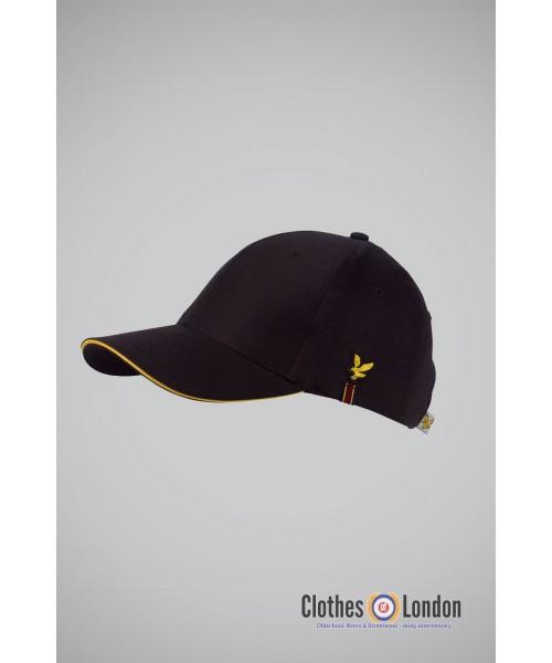 Czapka z daszkiem LYLE & SCOTT TOUR CAP czarna