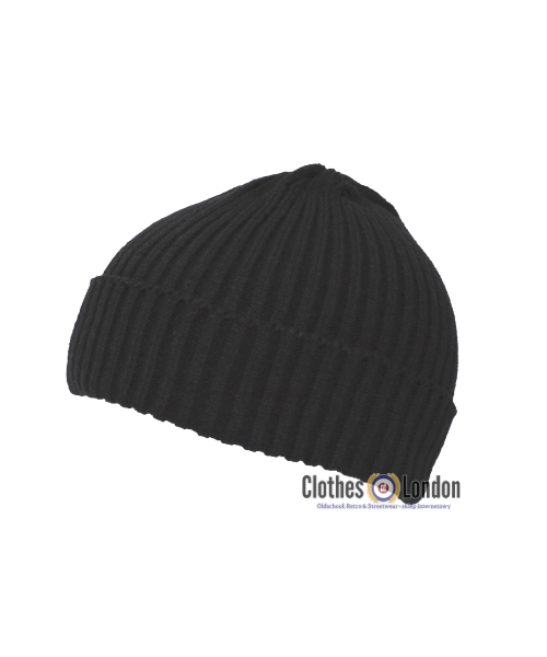 Czapka zimowa DOKERKA MAX FUCHS Watch Cap czarna