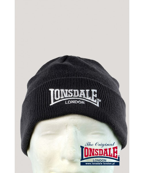 Czapka zimowa Lonsdale London Bobhat Czarna