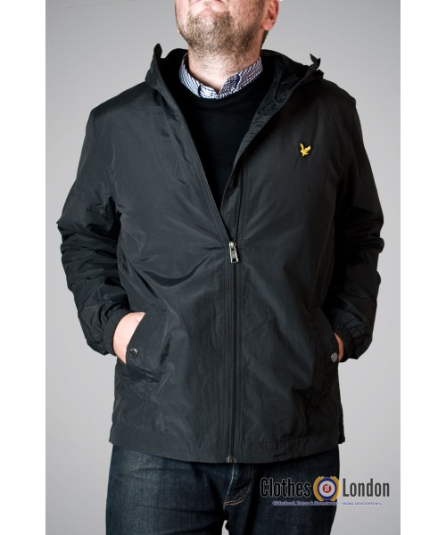 Kurtka Lyle & Scott Hooded Jacket Czarna