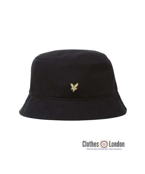 Kapelusz LYLE & SCOTT TWILL BUCKET HAT Czarny