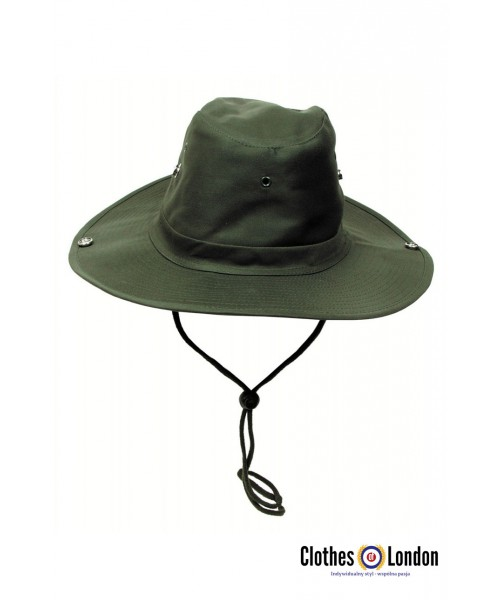 Kapelusz MAX FUCHS Bush Hat Tropentarn oliwkowy