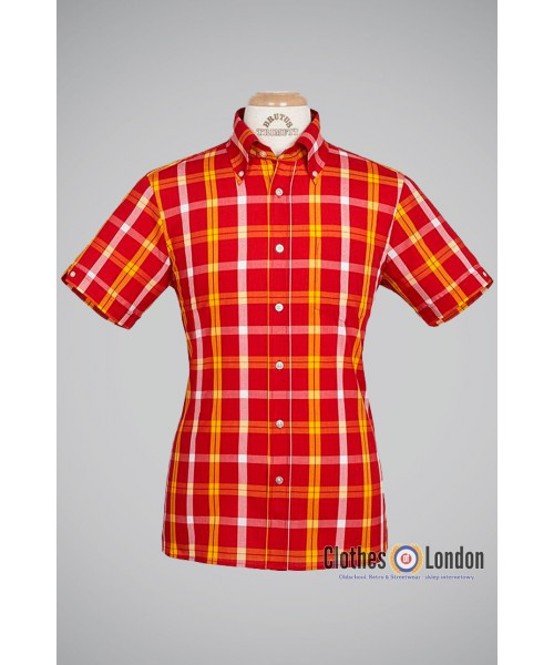 Koszula Brutus Trimfit Brick-Red
