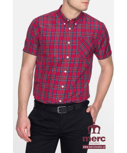 Koszula Merc London Mack Czerwona