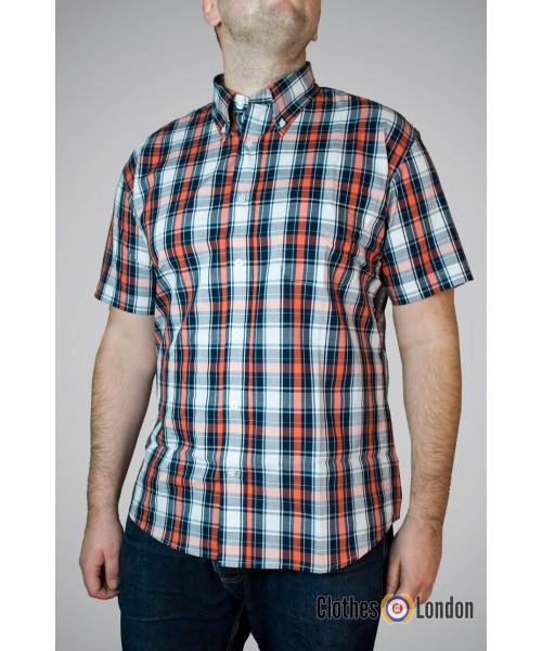 Koszula z krótkim rękawem Warrior Drax Granatowo / Biała