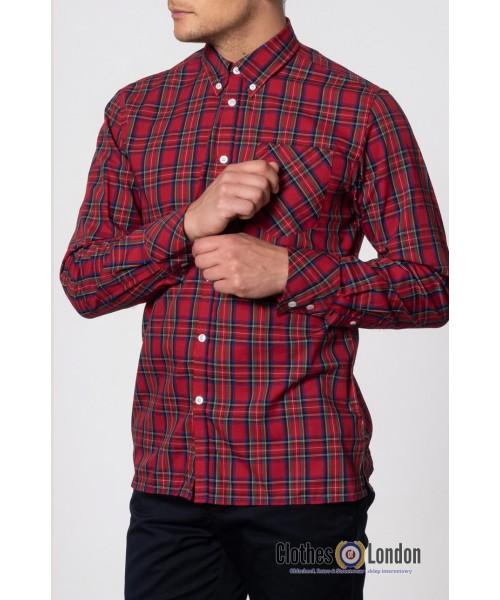Koszula z długim rękawem Merc London Neddy