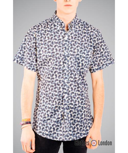 Koszula z krótkim rękawem Paisley Pop Boutique