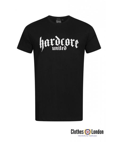 T-shirt HARDCORE UNITED CLASSIC czarny
