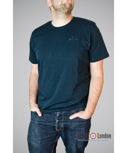 T-shirt Lonsdale London Dursley Granatowy