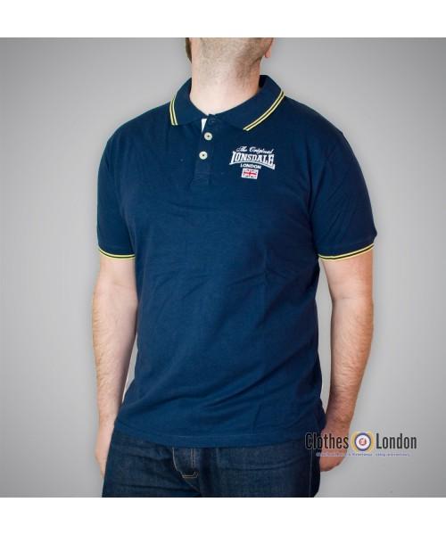 Koszulka Polo Lonsdale London Morley Granatowa