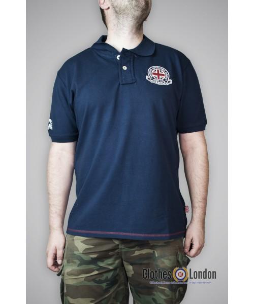 Koszulka Polo Lonsdale London Wallasey Granatowa