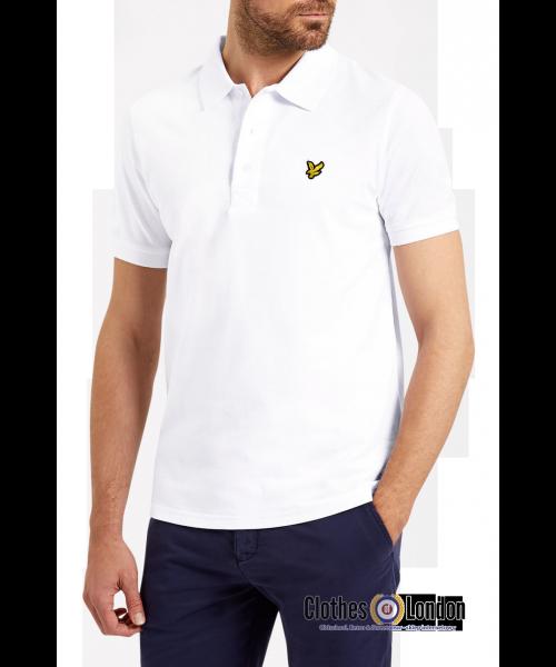 Koszulka Polo LYLE & SCOTT Plain biała